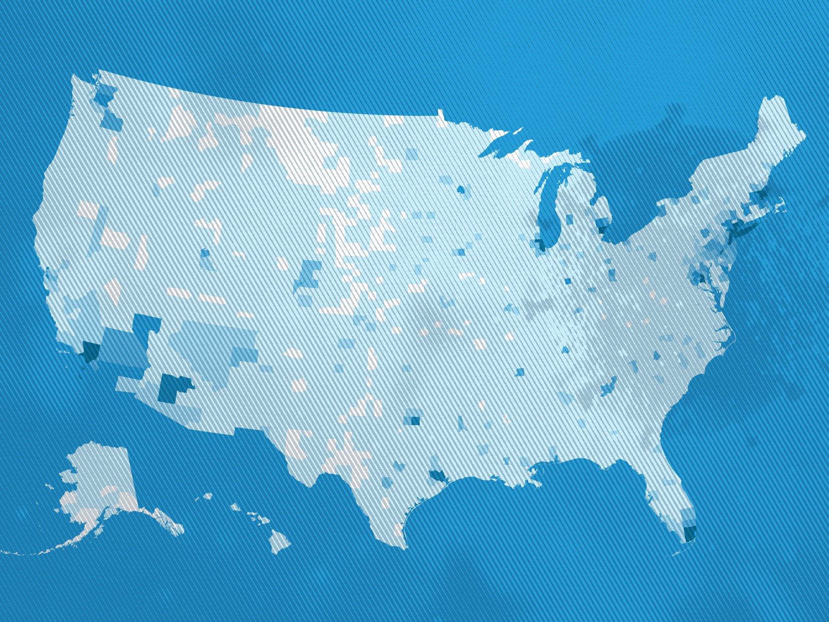 US Coronavirus Spread Map
